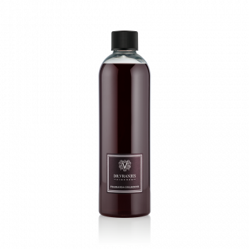 Recarga de Rosso Nobile 500 ml con Varillas Negras