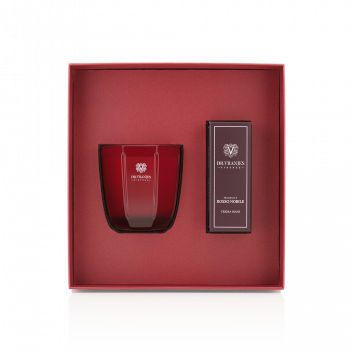 Cofre Rosso Nobile Vela 200 g + Crema de Manos 50 ml
